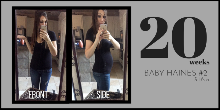 20 Weeks with Baby Haines #2