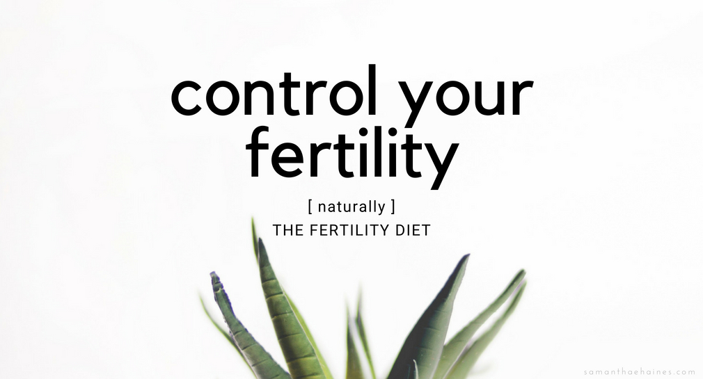 control your fertility neaturally