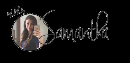 samantha signature blog post