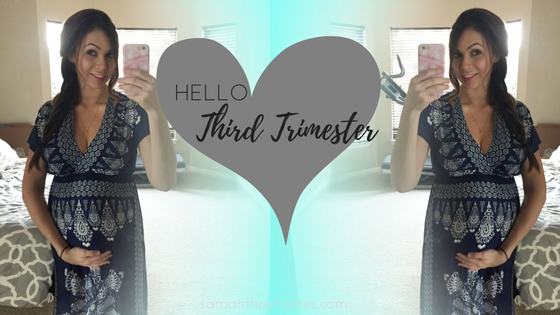 hello third trimester blog title