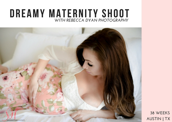 Dreamy Maternity Shoot with Rebecca Dyan Photography
