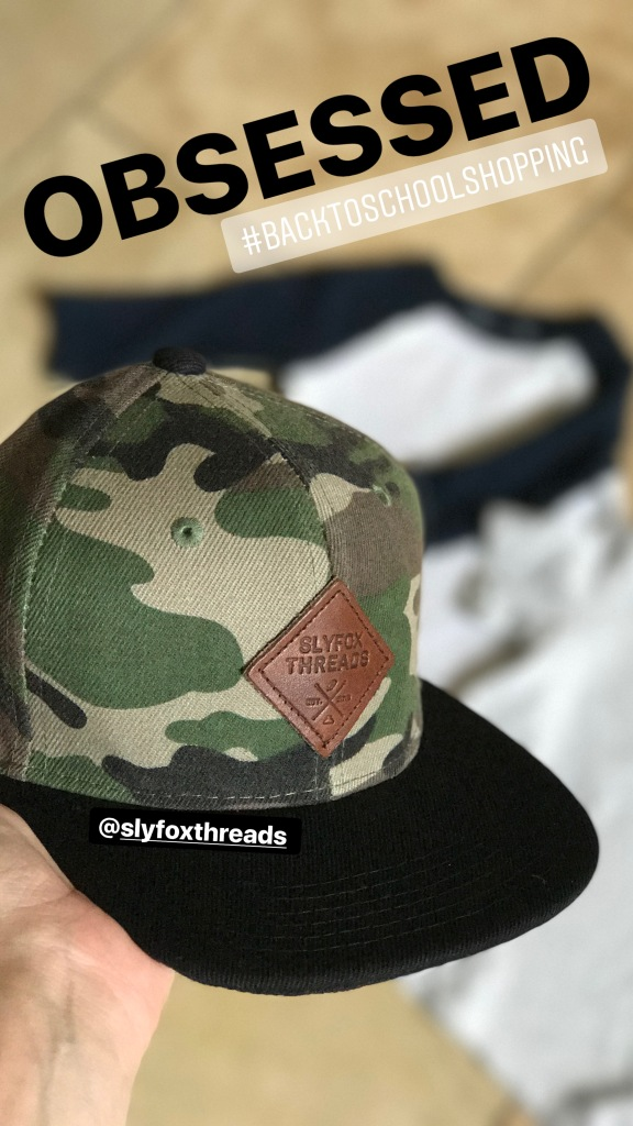 fashion boys hat